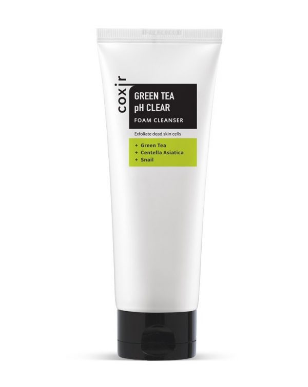 Coxir-Green-Tea-pH-Clear-Foam-Cleanser