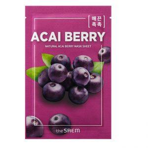The Saem Natural Acai Berry Mask Sheet